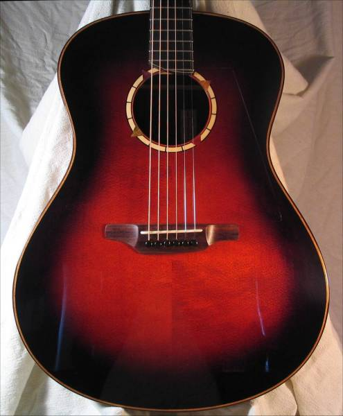 Large Sunburst Guitar