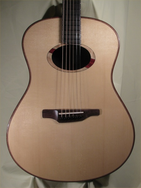 Large Brazilian Rosewood Guitar