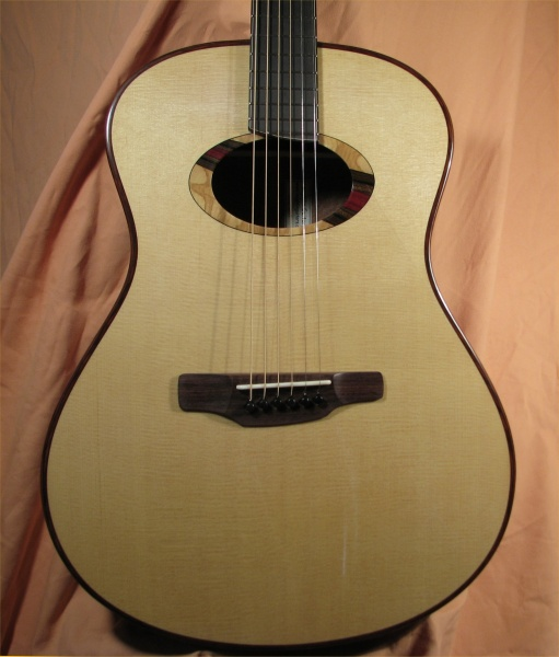 Large Lacewood Guitar